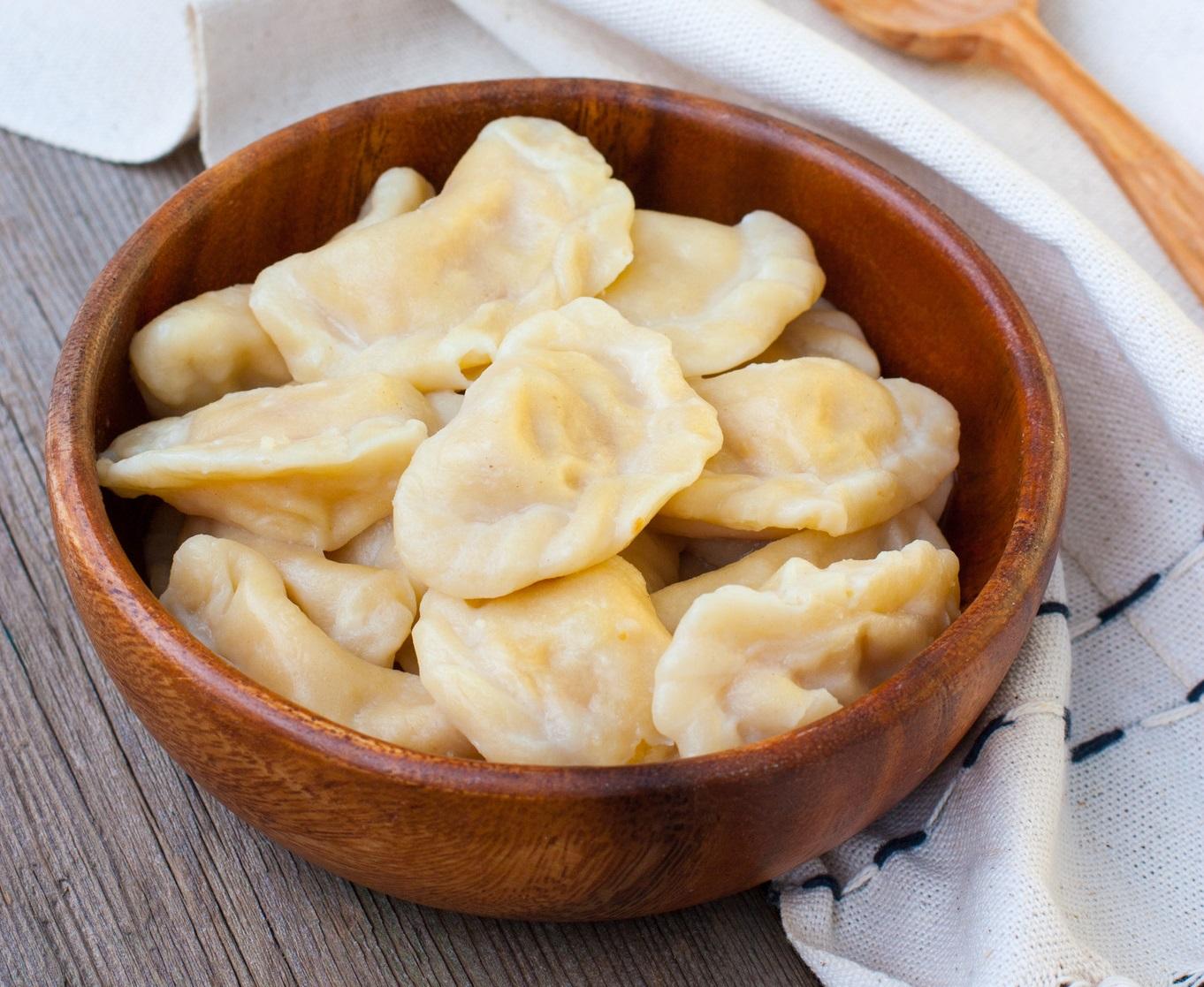 Вареники с картошкой пошаговый рецепт с салом